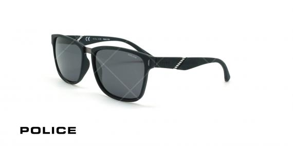 عینک آفتابی پلیس - POLICE SPL350 -فریم مشکی- عکاسی وحدت - زاویه سه رخ