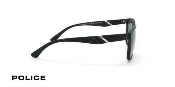 عینک آفتابی پلیس - POLICE SPL350 -فریم مشکی- عکاسی وحدت - زاویه بقل