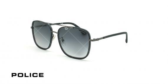 عینک آفتابی پلیس - POLICE SPL871 -فریم مشکی- عکاسی وحدت - زاویه سه رخ