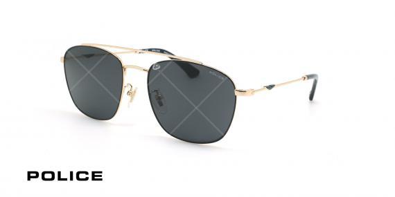 عینک آفتابی پلیس - POLICE SPL996 -فریم مشکی- عکاسی وحدت - زاویه سه رخ