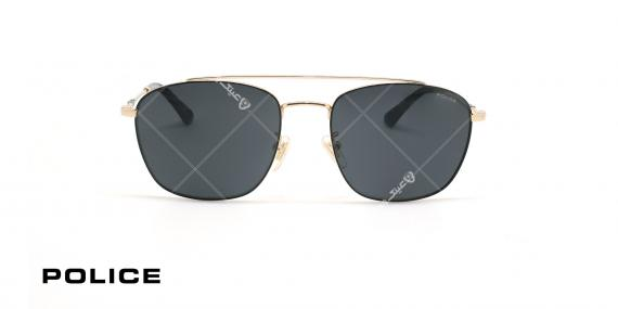 عینک آفتابی پلیس - POLICE SPL996 -فریم مشکی- عکاسی وحدت - زاویه روبرو