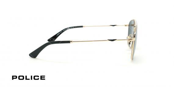 عینک آفتابی پلیس - POLICE SPL996 -فریم مشکی- عکاسی وحدت - زاویه بقل