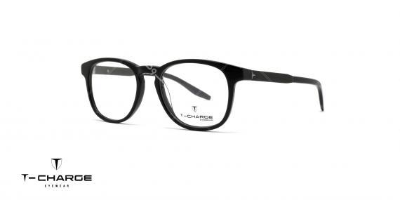 عینک طبی تی شارژ T Charge t6075 - عکاسی وحدت - زاویه سه رخ