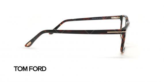 عینک طبی مستطیلی تام فورد - TOM FORD TF5479-B - قهوه ای هاوانا - عکاسی وحدت زاویه کنار