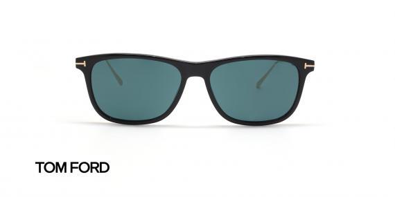 عینک آفتابی تام فورد تیتانیوم کائوچویی تام فورد - زاویه روبرو