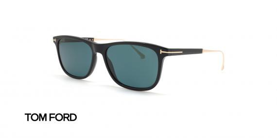 عینک آفتابی تام فورد تیتانیوم کائوچویی تام فورد - زاویه سه رخ