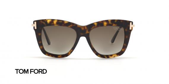 عینک آفتابی تام فورد زنانه پولاریزه - زاویه روبرو