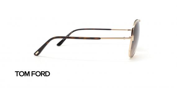 عینک آفتابی خلبانی تام فورد - عکاسی عینک وحدت - زاویه کنار