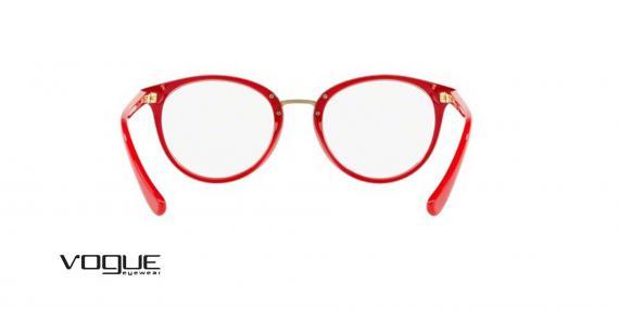 عینک طبی کائوچویی قرمز رنگ Vogue  - زاویه داخل