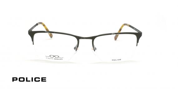 عینک طبی زیر گریف پلیس - POLICE VPL138 INVISIBLE -عکاسی وحدت- عکس زاویه روبرو