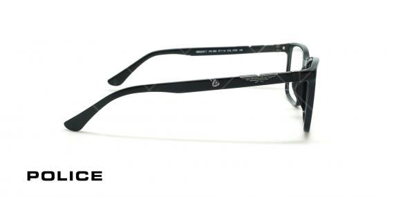 عینک طبی مستطیلی  پلیس - POLICE VPL886 - عکاسی وحدت - عکس زاویه کنار