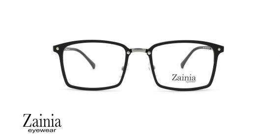 عینک طبی مستطیلی شکل زینیا  Zainia Z1146 C204 - عکاسی وحدت - زاویه رو به رو